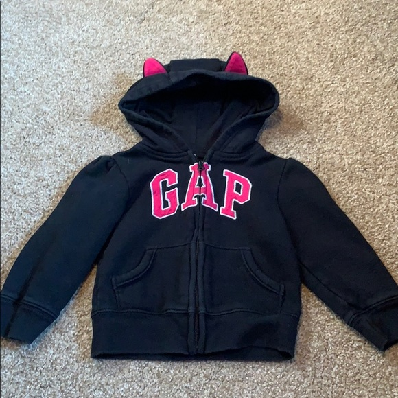 NEW GAP DOT TERRY HOODIE SIZE 3T 4T